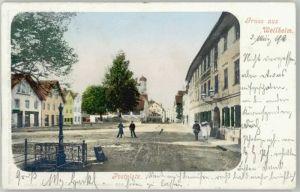 Weilheim Oberbayern Weilheim in Oberbayern  x 1903 / Weilheim i.OB /Weilheim-Schongau LKR