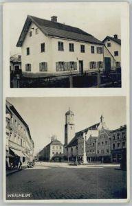 Weilheim Oberbayern Weilheim in Oberbayern  x 1925 / Weilheim i.OB /Weilheim-Schongau LKR