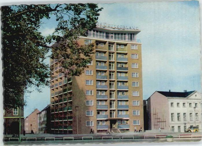 Rostock Mecklenburg-Vorpommern Rostock Hochhaus * / Rostock /Rostock Stadtkreis