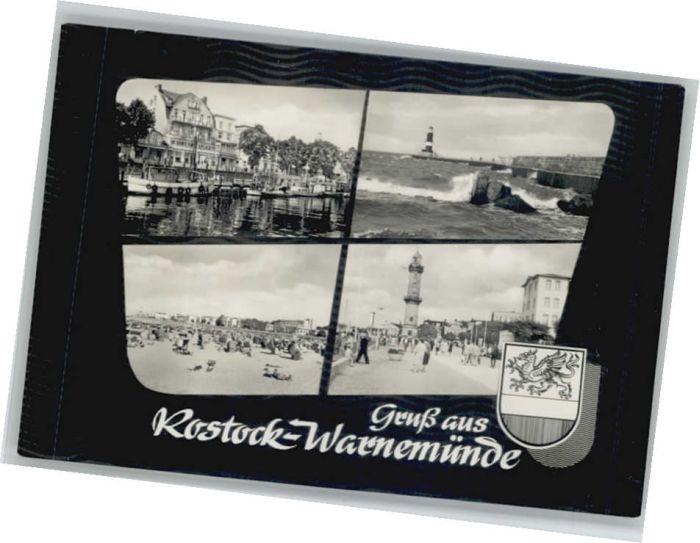 Rostock Mecklenburg-Vorpommern Rostock Warnemuende * / Rostock /Rostock Stadtkreis