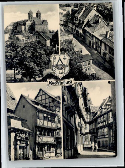 Quedlinburg Quedlinburg  x / Quedlinburg /Harz LKR