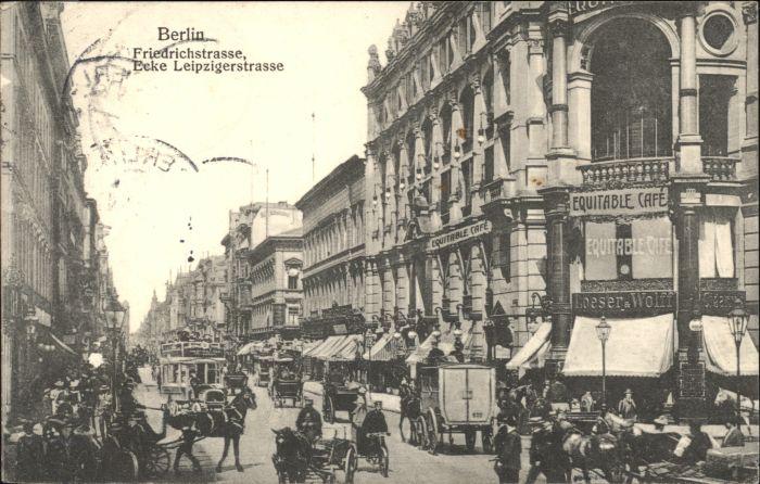 Berlin Berlin Friedrichstrasse Leipzigerstrasse x / Berlin /Berlin Stadtkreis