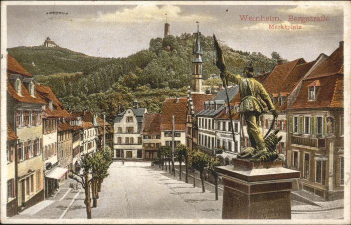 Weinheim Bergstrasse Weinheim  x / Weinheim /Heidelberg Stadtkreis