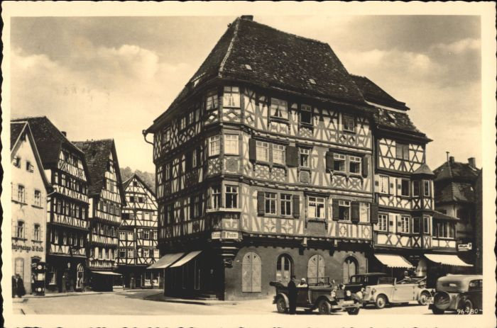 Mosbach Baden Mosbach Fachwerkbauten x / Mosbach /Neckar-Odenwald-Kreis LKR
