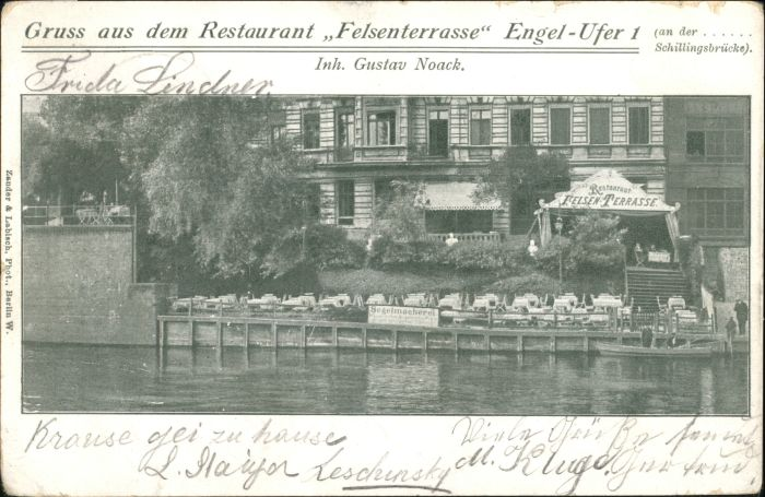 Berlin Berlin Restaurant Felsenterrasse x / Berlin /Berlin Stadtkreis