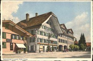 Escholzmatt Escholzmatt Hotel Krone * / Escholzmatt /Bz. Entlebuch