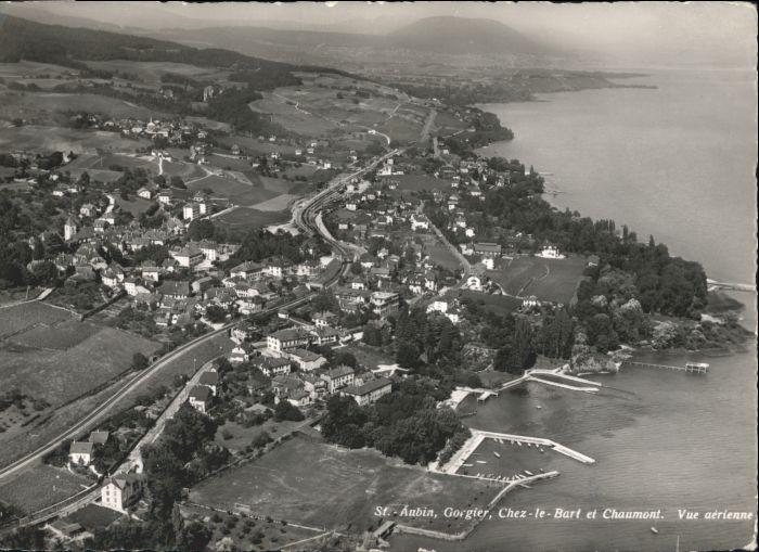 St Aubin FR St Aubin Fliegeraufnahme x / St Aubin /Bz. La Broye