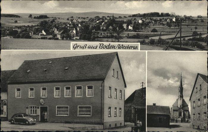 Boden Westerwald Boden Westerwald Gasthaus Jakob Schultheis * / Boden /Westerwaldkreis LKR