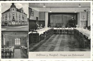 Singen Hohentwiel Singen Hohentwiel Gasthaus zum Burghof x / Singen (Hohentwiel) /Konstanz LKR