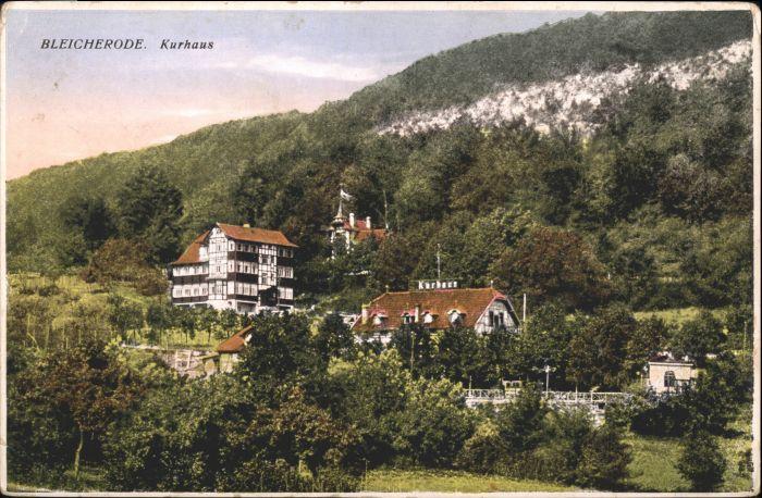 Bleicherode Bleicherode Kurhaus * / Bleicherode /Nordhausen LKR