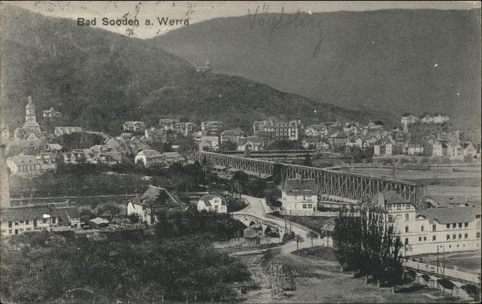 Bad Sooden-Allendorf Bad Sooden-Allendorf  x / Bad Sooden-Allendorf /Werra-Meissner-Kreis LKR