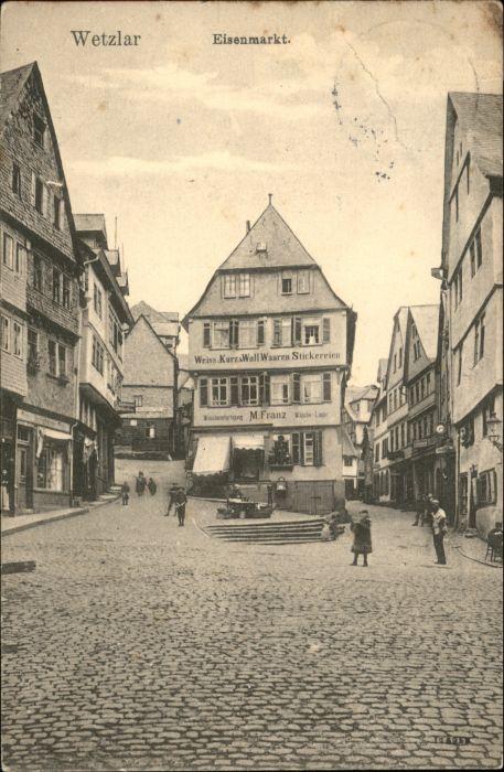Wetzlar Wetzlar Eisenmarkt x / Wetzlar /Lahn-Dill-Kreis LKR