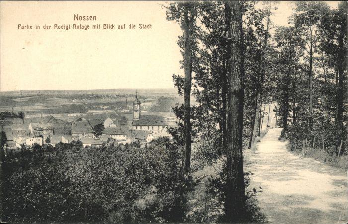 Nossen Nossen Rodigt-Anlage x / Nossen /Meissen LKR