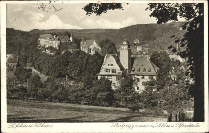 Schleiden Eifel Schleiden Eifel Schule Schloss x / Schleiden /Euskirchen LKR