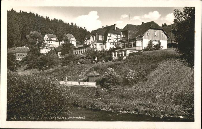 Altenbrak Harz Altenbrak Rolandeck x / Altenbrak /Harz LKR