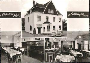 Hattingen Ruhr Hattingen Ruhr Gaststaette Baaker Hof * / Hattingen /Ennepe-Ruhr-Kreis LKR
