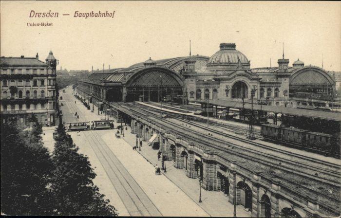 Dresden Dresden Hauptbahnhof Union Hotel  * / Dresden /Dresden Stadtkreis