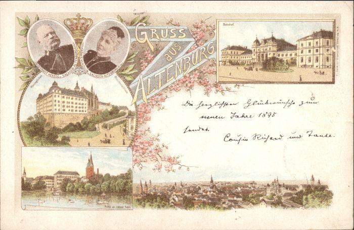 Altenburg Thueringen Altenburg  x / Altenburg /Altenburger Land LKR