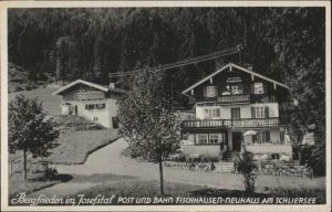 Fischhausen Schliersee Fischhausen Schliersee Bergfrieden  Cafe Pension * / Schliersee /Miesbach LKR