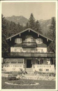 Neuhaus Schliersee Neuhaus Schliersee Cafe Pension Bergfrieden x / Schliersee /Miesbach LKR