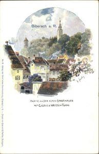 Biberach Riss Biberach Riss Weissen Turm  * / Biberach an der Riss /Biberach LKR