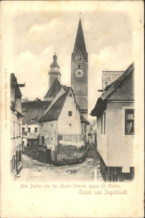 Ingolstadt Donau Ingolstadt Maut-Strasse  * / Ingolstadt /Ingolstadt Stadtkreis