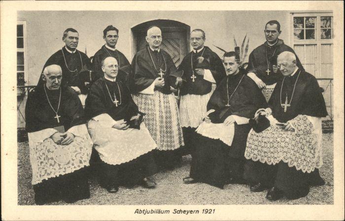 Scheyern Scheyern Bischof Abtjubilaeum x / Scheyern /Pfaffenhofen LKR