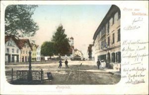 Weilheim Oberbayern Weilheim Oberbayern Postplatz x / Weilheim i.OB /Weilheim-Schongau LKR