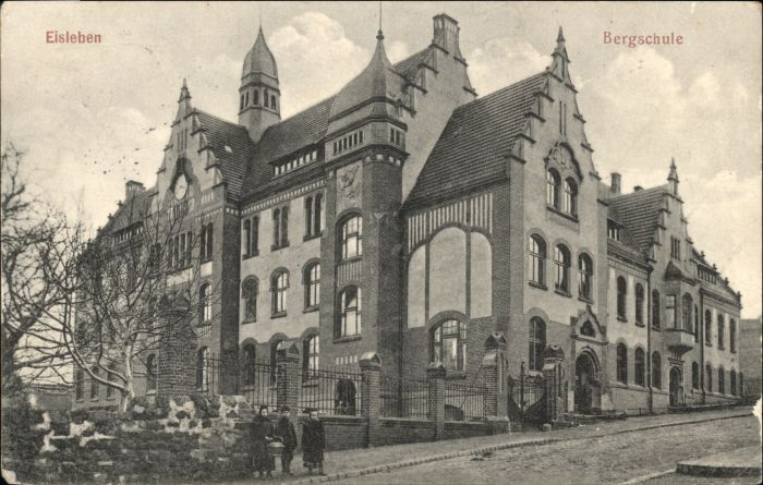 Eisleben Eisleben Bergschule x / Eisleben /Mansfeld-Suedharz LKR