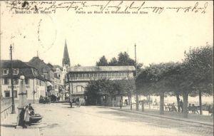 Biebrich Wiesbaden Biebrich Wiesbaden Rheinstrasse Allee x / Wiesbaden /Wiesbaden Stadtkreis