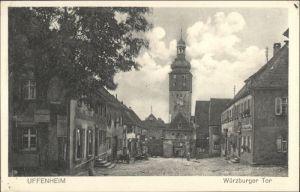 Uffenheim Uffenheim Wuerzburger Tor * / Uffenheim /Neustadt Aisch-Bad Windsheim LKR