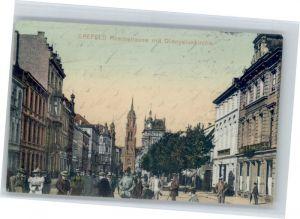 Krefeld Krefeld Dionysiuskirche Rheinstrasse x / Krefeld /Krefeld Stadtkreis