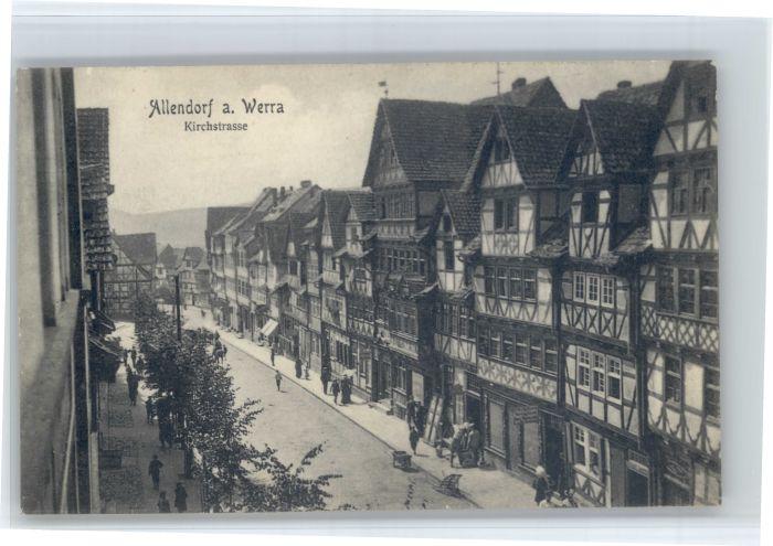 Bad Sooden-Allendorf Bad Sooden-Allendorf Kirchstrasse * / Bad Sooden-Allendorf /Werra-Meissner-Kreis LKR