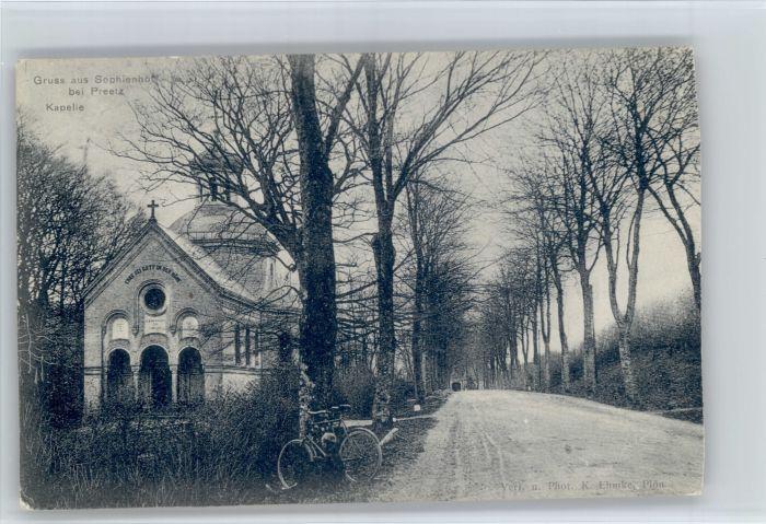 Preetz Preetz Sophienhoef Kapelle x / Preetz /Ploen LKR