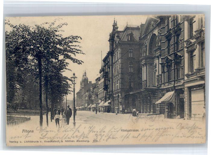 Altona Hamburg Altona Hamburg Koenigstrasse x / Hamburg /Hamburg Stadtkreis