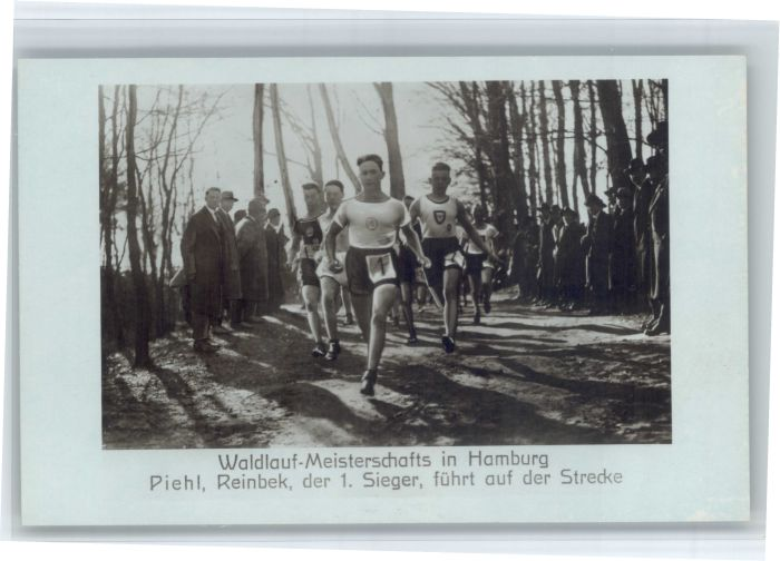 Reinbek Reinbek Waldlauf Meisterschaft Piehl  * / Reinbek /Stormarn LKR
