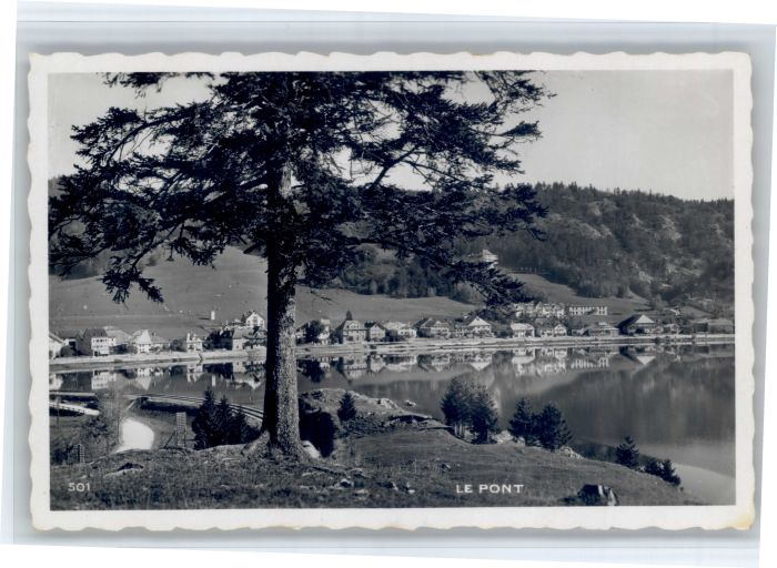Le Pont VD Le Pont  * / Le Pont /Bz. La Vallee