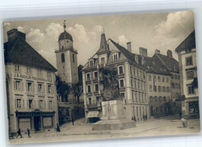 La Chaux-de-Fonds La Chaux-de-Fonds Hotel Ville x / La Chaux-de-Fonds /Bz. La Chaux-de-Fonds