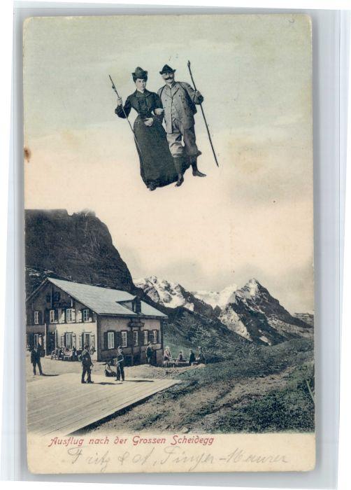 Grosse Scheidegg Grosse Scheidegg  x / Scheidegg, Grosse /Rg. Meiringen