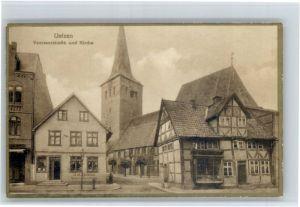 Uelzen Lueneburger Heide Uelzen Veersserstrasse Kirche  * / Uelzen /Uelzen LKR