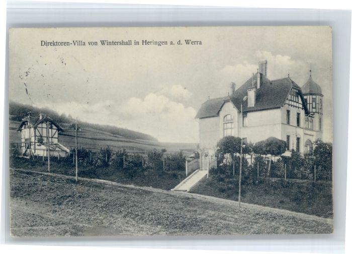 Heringen Heringen Direktoren Villa Wintershall x / Heringen (Werra) /Hersfeld-Rotenburg LKR