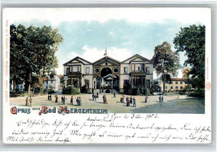 Bad Mergentheim Bad Mergentheim  x / Bad Mergentheim /Main-Tauber-Kreis LKR