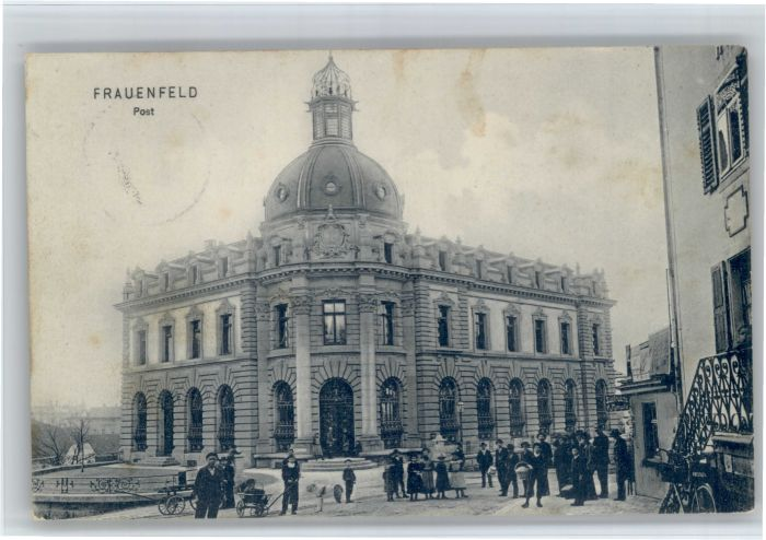 Frauenfeld Frauenfeld Post x / Frauenfeld /Bz. Frauenfeld