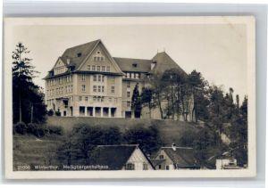 Winterthur Winterthur Heiligberg Schule  x / Winterthur /Bz. Winterthur City