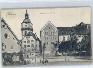 Backnang Backnang Kirche x / Backnang /Rems-Murr-Kreis LKR