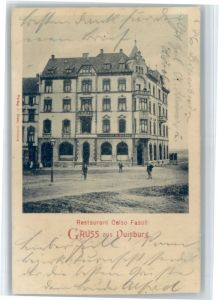 Duisburg Ruhr Duisburg Restaurant Celso Fasoli x / Duisburg /Duisburg Stadtkreis