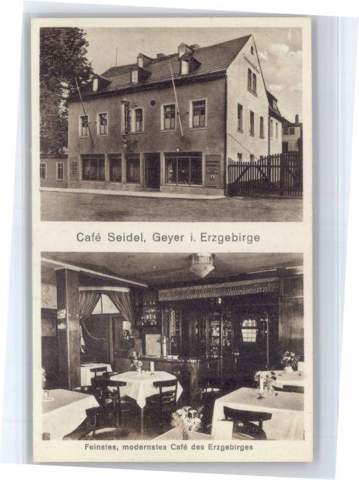 Geyer Geyer Cafe Seidel * / Geyer /Erzgebirgskreis LKR