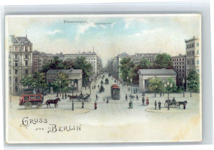 Berlin Berlin Potsdamerplatz Leipzigerstrasse * / Berlin /Berlin Stadtkreis