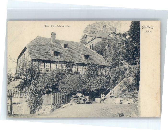 Stolberg Harz Stolberg Superintendantur * / Stolberg Harz /Mansfeld-Suedharz LKR