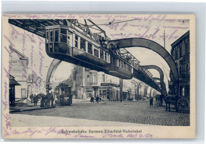 Elberfeld Wuppertal Elberfeld Barmen Vohwinkel Schwebebahn x / Wuppertal /Wuppertal Stadtkreis